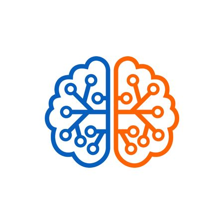 brain: Brain Logo Template