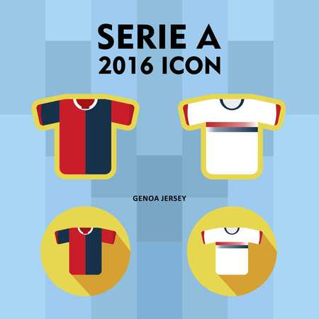 serie: Serie A Football Club Icon Stock Photo