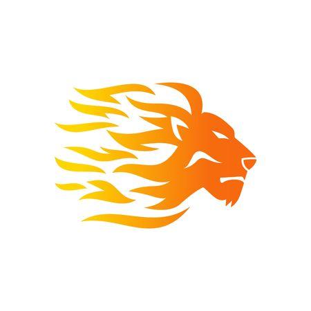 Leone Logo Template Archivio Fotografico - 43957650