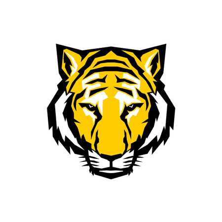 Tiger Logo Template Stock fotó
