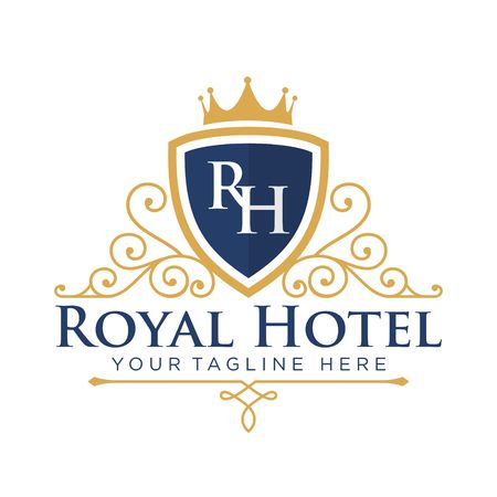 hotel icon: Hotel Logo Template