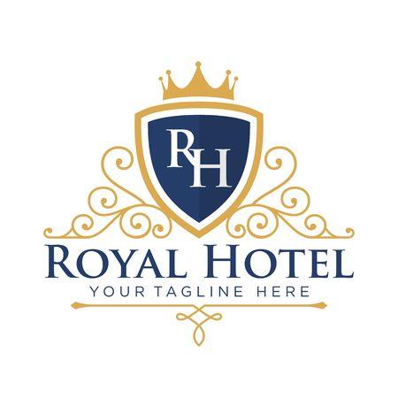 hotel service: Hotel Logo Template