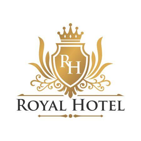 Hotel Logo Template Stock Photo - 44126328