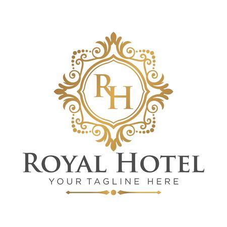 Hotel Logo Template Stock Photo - 44126330