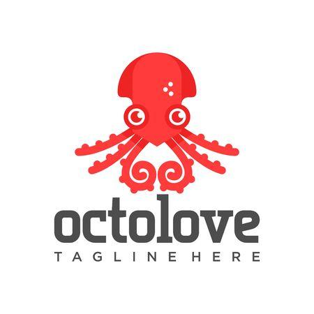 devilfish: Octopus Logo Template
