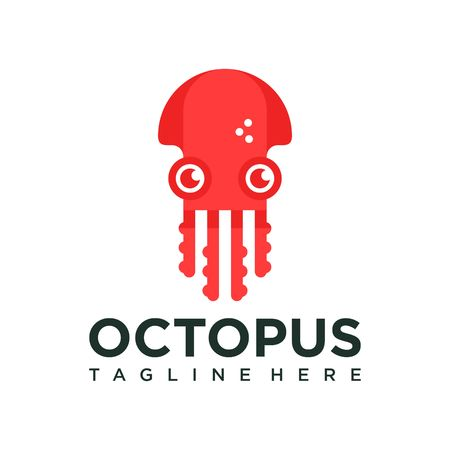 tentacle: Octopus Logo Template