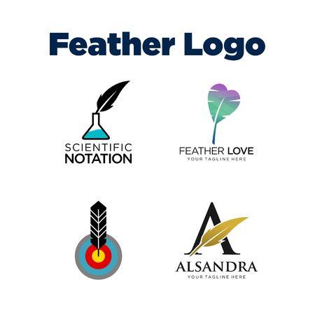 feathe: Feathe Logo Template