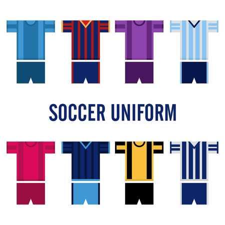 soccer uniform: Soccer Uniform Template Stock Photo