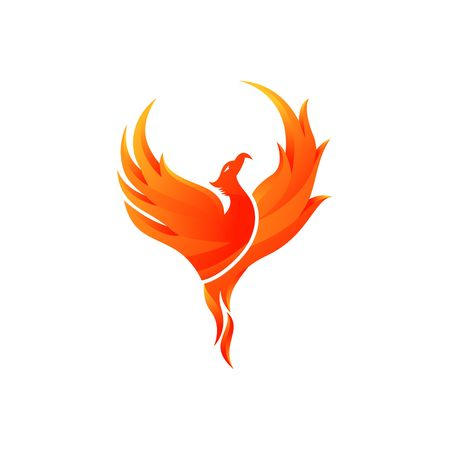 Phoenix Vector Template Stockfoto - 44826083