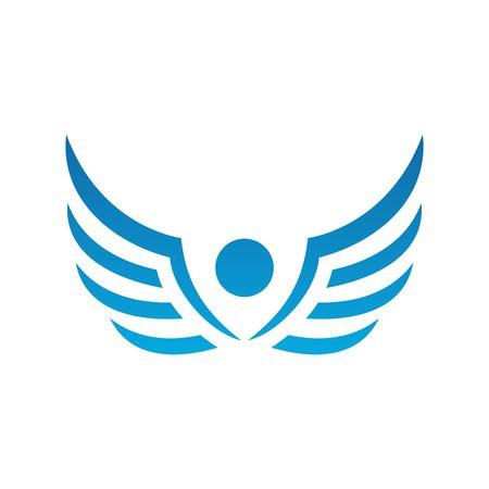 天使のベクトル テンプレート