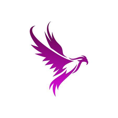 ave fenix: Phoenix plantilla de vectores