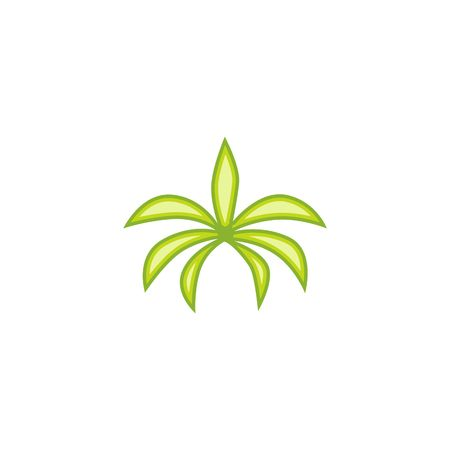 palm tree vector: Palm Tree Vector Template