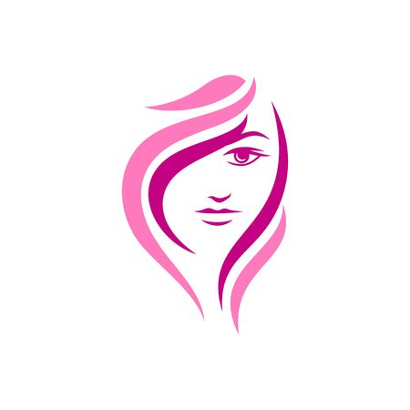 Beauty Face Vector Template