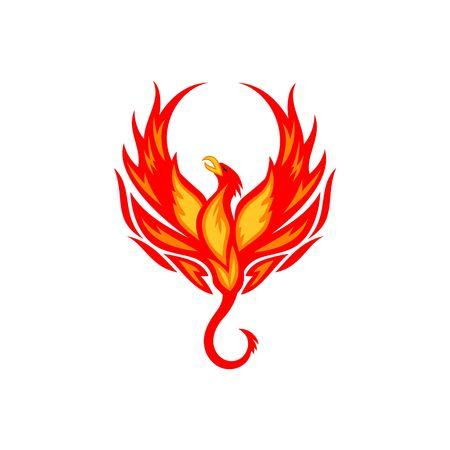 phoenix: Phoenix plantilla de vectores