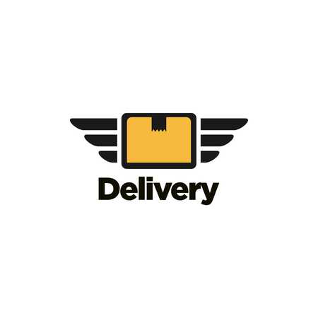 delivery icon: Delivery  Template