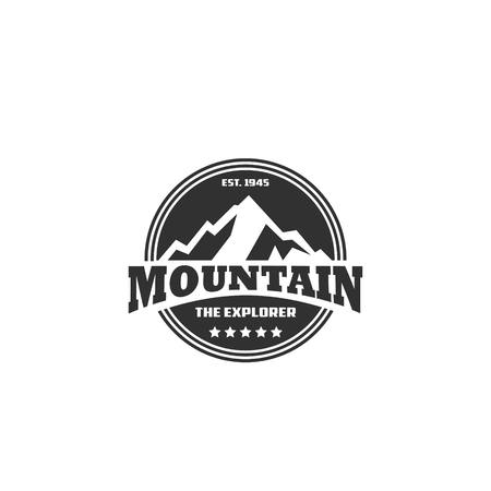 everest: Mountain Vector Template