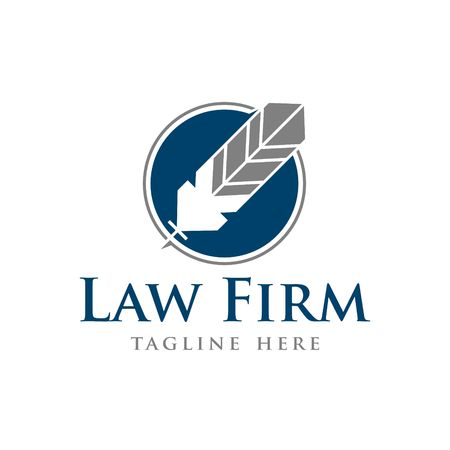 legality: Law Firm Vector Template