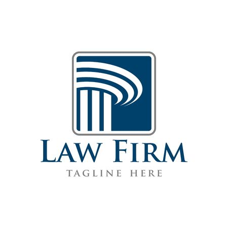 firm: Law Firm Vector Template