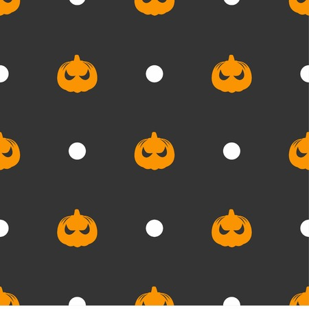 seamless pattern: Halloween spooky seamless Pattern
