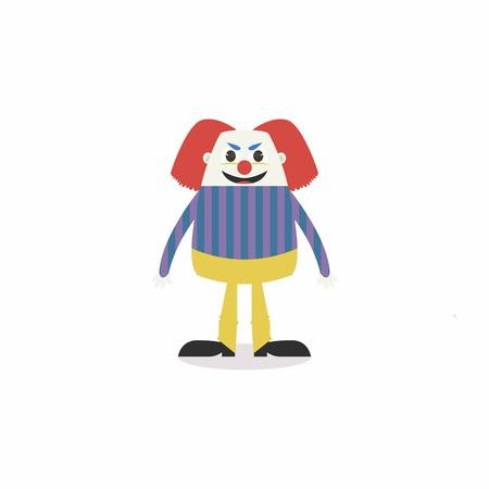 scar: Halloween Cartoon Character Vector Template