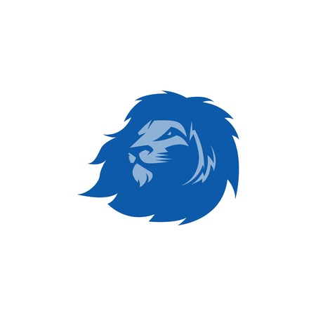lion head: Lion Sport Logo Vector Template Stock Photo