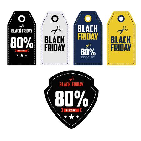 discount: Black Friday Sale, discount and voucher template