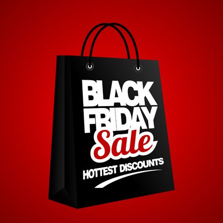 black friday: Black Friday Sale, discount and voucher template