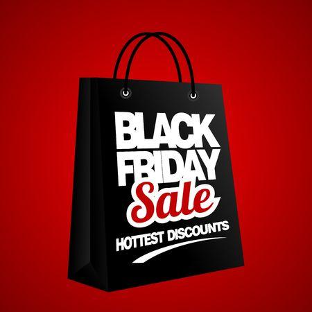 Black Friday Sale, discount and voucher template Stock fotó - 47737623