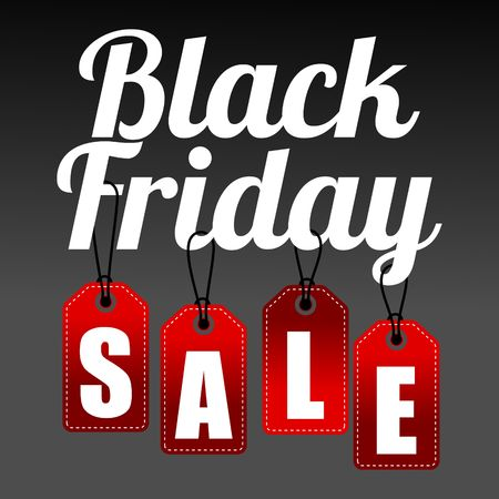 Black Friday verkoop, korting en voucher sjabloon Stockfoto - 47737588