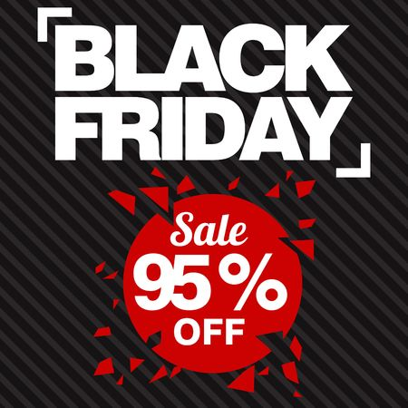 sellout: Black Friday Sale, discount and voucher template