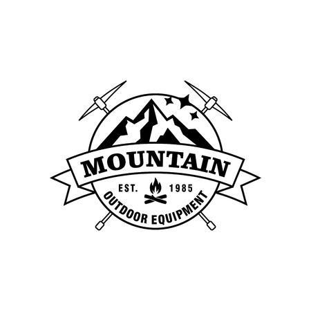 Mountain hipster logo template stock photo picture and royalty free mountain hipster logo template stock photo 47889090 maxwellsz