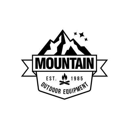 Mountain hipster logo template stock photo picture and royalty free mountain hipster logo template stock photo 47889099 maxwellsz
