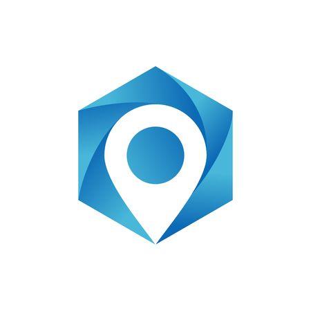 geo: Geo Location logo  vector template Stock Photo