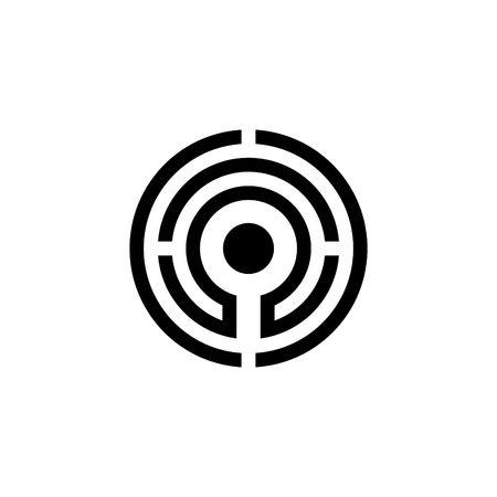 logo vector: Search logo vector template