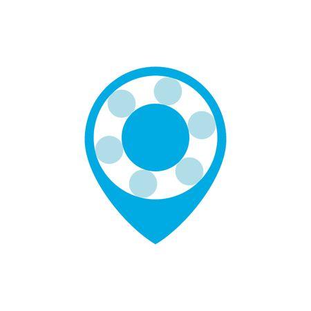 geo: Geo Location logo vector template