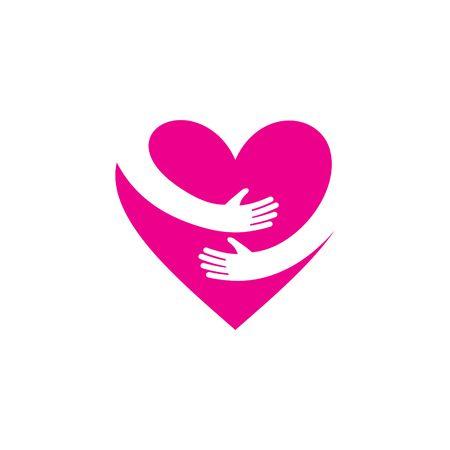 Love Logo Vector sjabloon