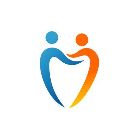 Dentist Vector Template Banco de Imagens