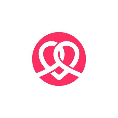 alliance: Love Logo Vector Template