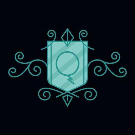 q: Crest Alphabet Q