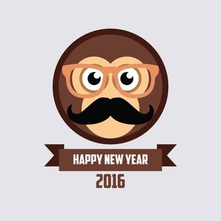 gong xi fa cai: Monkey New Year 2016