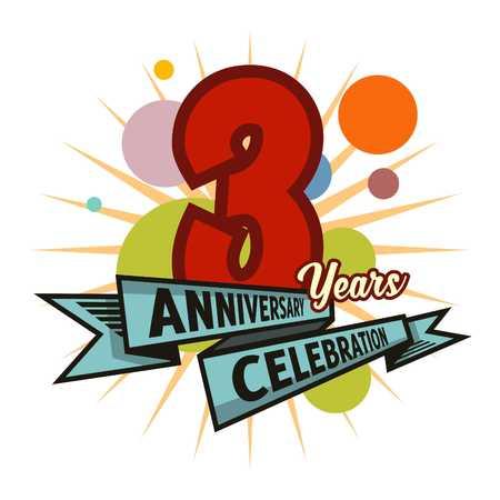 anniversary vector: Anniversary Vector template