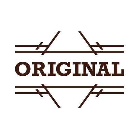 original: Original Badge Vector Template