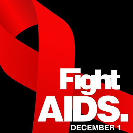 World Aids day, poster and quotes, inspirational message