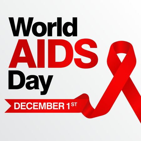World Aids Day Poster And Quotes Inspirational Message Stock Photo Adorable Inspirational Message Of The Day