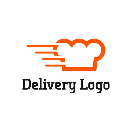 food illustrations: Delivery  vector template
