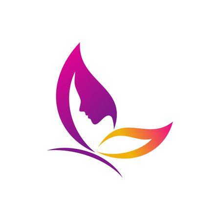 silhouette papillon: modèle de papillon