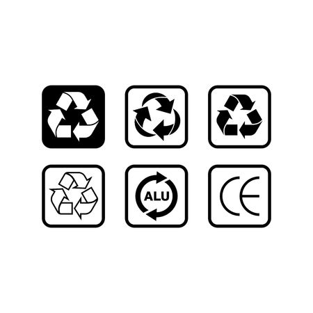 packaging icon: Packaging Icon template
