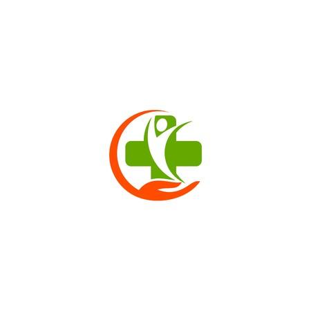 medical logo template Stock Photo