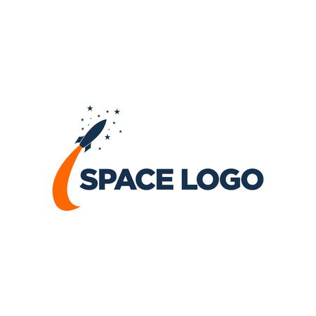 Space Logo Template Stock Photo