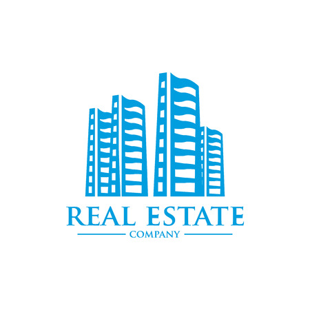 real: real estate vector  template